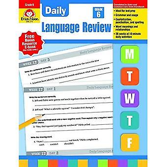 Daily Language Review: Grade 6