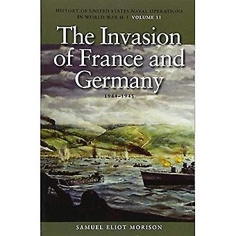 L'invasione della Francia e della Germania, 1944-1945: storia delle operazioni navali degli Stati Uniti nella seconda guerra mondiale, Volume 11
