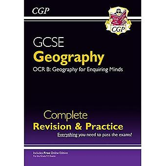 New Grade 9-1 GCSE Geography OCR B Complete Revision & Practice (with Online Edition)