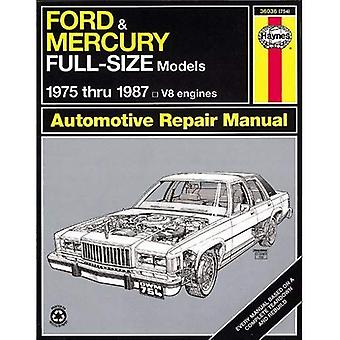 Ford and Mercury Full-Size, 1975-1987