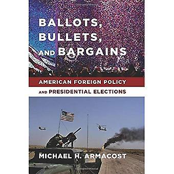 Stemmesedler, kugler og gode tilbud: amerikansk udenrigspolitik og præsidentvalg
