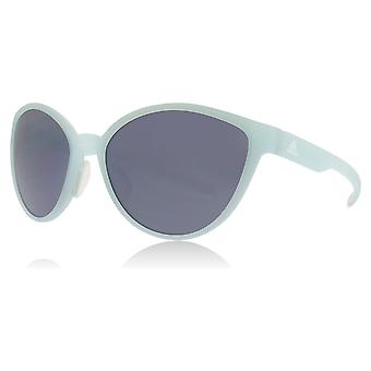 Adidas AD34 5100 Turquoise Tempest Butterfly Sunglasses Lens Category 3 Lens Mirrored Size 56mm