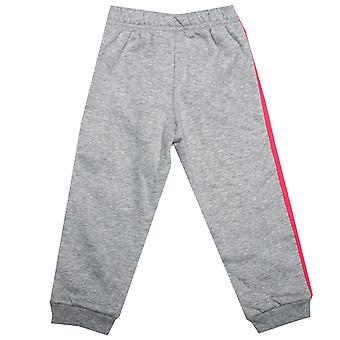 Baby Mädchen Adidas Favourite Knit Jog Pants In Grey Heather-Ribbed Taille und