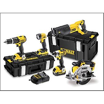 DEWALT DCK591M3 XR 5 bit Kit 18 volts 3 x 4.0Ah Li-Ion