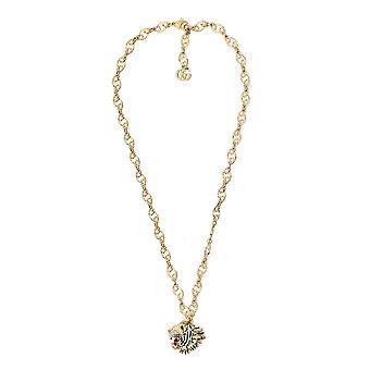 Gucci-Gold Halskette aus Metall