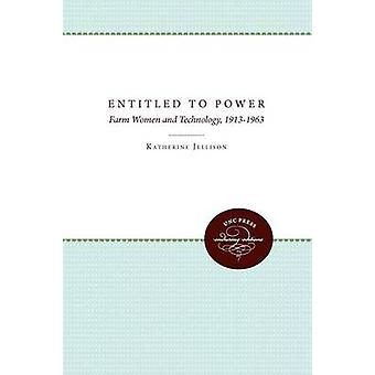 Entitled to Power by Jellison & Katherine