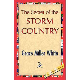 El secreto del país de la tormenta por Grace Miller blanco y blanco de Miller