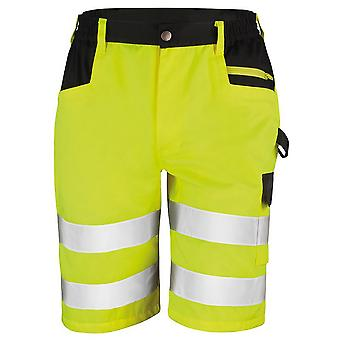 Result Core Mens Reflective Safety Cargo Shorts (Pack of 2)