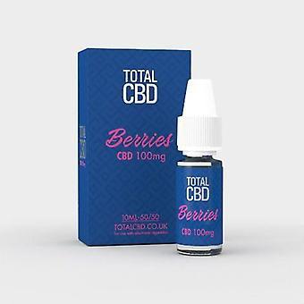 Total CBD E-Liquid 100MG Berry Burst 10ML
