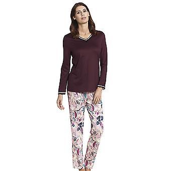 Rosch 1193579-16400 Women's New Romance Pink Floral Cotton Pyjama Set