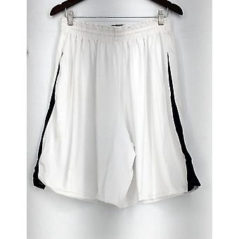 Ladies Team Holloway Plus Shorts Athletic Shorts White New