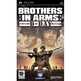 Brothers in Arms D-Day (PSP) - Fabrik versiegelt