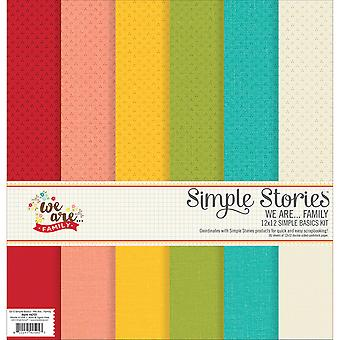 Simple Stories Simple Basics Kit 12