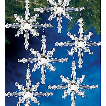 Holiday Beaded Ornament Kit North Star Bok 7281
