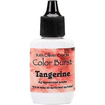 Ken Oliver Color Burst Powder 6gm-Tangerine KNCPW-6224