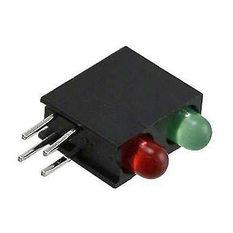 LED component Green, Red (L x W x H) 13.33 x 11 x 4.32 mm Dialight