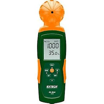 Carbon dioxide detector Extech CO240 0 - 9999 ppm thermometer, U