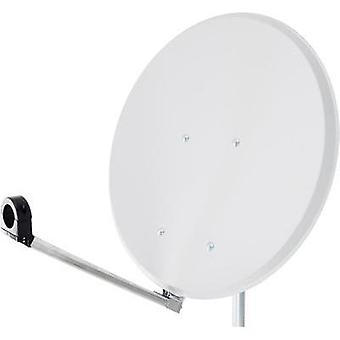 SAT antenna 65 cm Smart Click-Clack Reflective material: Steel White