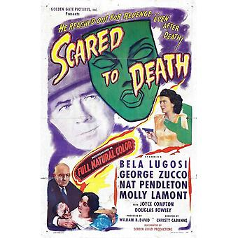 Scared to Death Movie Poster Print (27 x 40)