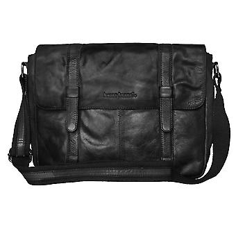 Bruno banani tas schoudertas man's Pocket schoudertas black 3875