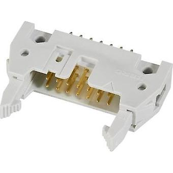 Pin connector + ejector (long), + strain relief clip Contact spacing: 2.54 mm Total number of pins: 16 FCI 1 pc(s)