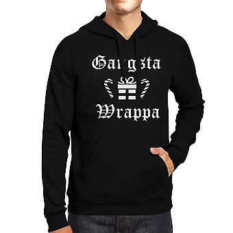 Gangsta Wrappa Natale Hoodie Funny Holiday Gifts Ideas