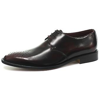 London Brogues Earl Derby Mens Lace Up Shoes  AND COLOURS