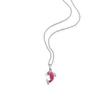 Scout children necklace chain silver Dolphin & sea horse girls 261080200