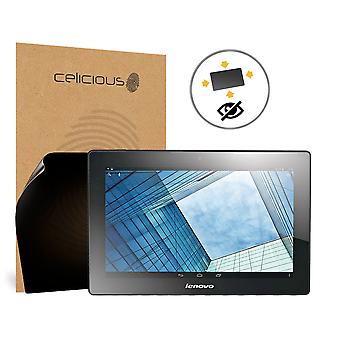 Celicious Privacy Plus Lenovo Idea Tab S6000L 4-Way Visual Black Out Screen Protector