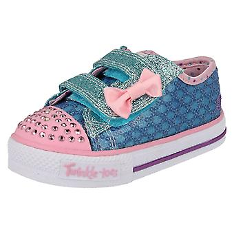 Infant Girls Twinkletoes by Skechers Trainers Sweet Steps