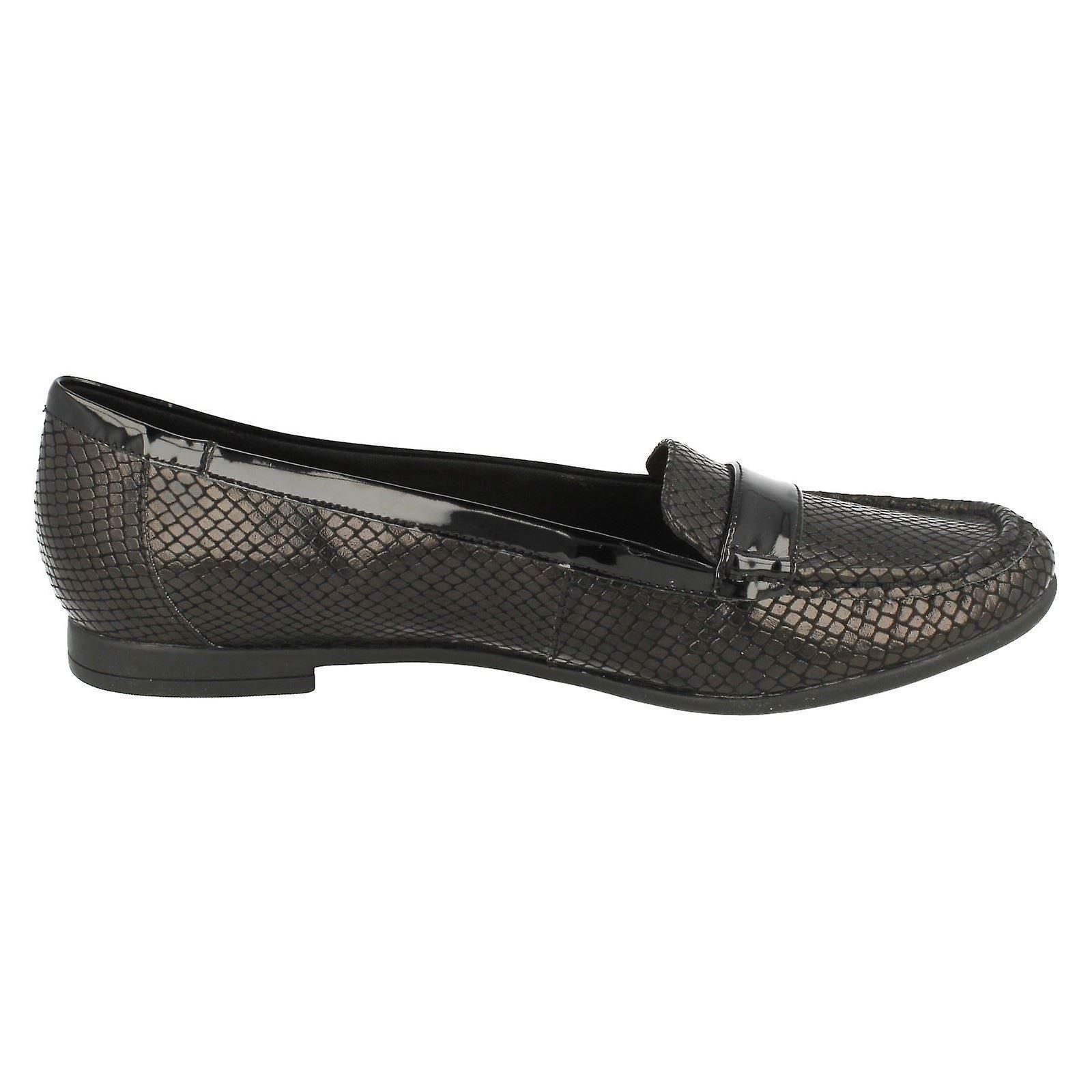 Clarks Atomic Slip Loafers Smart Lady Ladies On FqPz6Pw