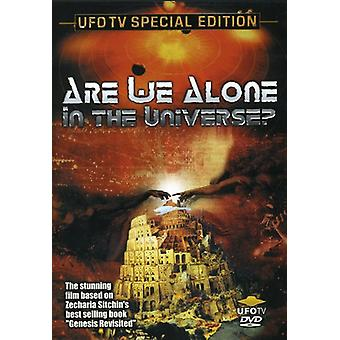 Er vi alene i universet [DVD] USA importen