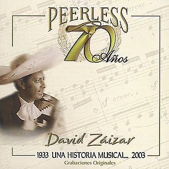 David Zaizar - 70 Anos uforlignelige Una Historia musikalske [CD] USA import