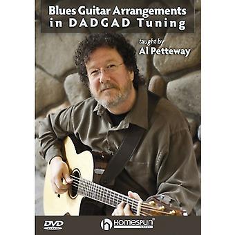 Blues Guitar ordninger i Dadgad Tuning [DVD] USA importerer