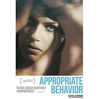 Appropriate Behaviour [DVD] USA import