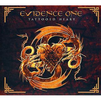 Beviser én - tatoverede hjertet [CD] USA import