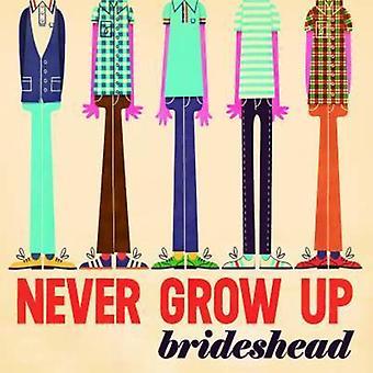 Brideshead - aldrig vokse op [Vinyl] USA importerer