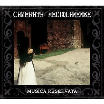CAMERATA Mediolanense - Musica Reservata [CD] USA import