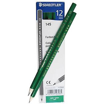 Staedtler 12 Lapices Color Verde (Toys , School Zone , Drawing And Color)