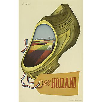 See Holland Poster Print Giclee