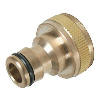 Silverline quick connector brass faucets BSP 3/4  - 1/2  Macho