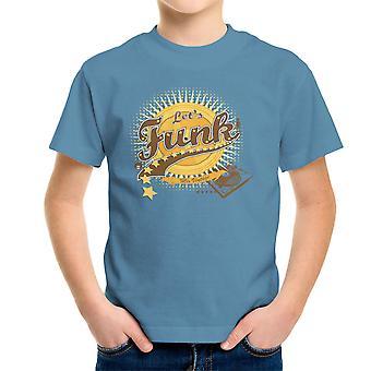 Lets Funk Mix Vintage Kid's T-Shirt