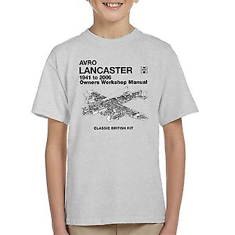 Haynes Owners Workshop Manual Arvo Lancaster 1941 to 2006 Kid's T-Shirt