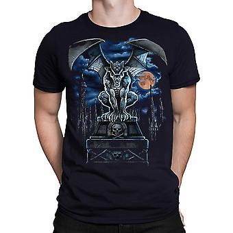Gargoyle Moon  Short Sleeve Tshirt