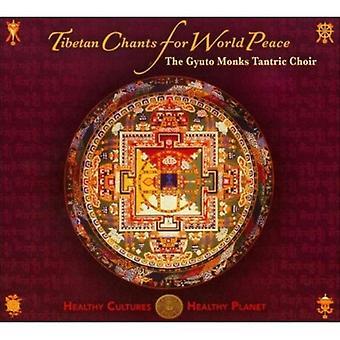 Gyuto tantriske kor - tibetanske Chants for verdensfreden [CD] USA import