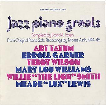 Jazz Piano storheter: Fra opprinnelige Piano Solo oppføringen - Jazz Piano storheter: fra Piano Solo originalpost [DVD] USA import