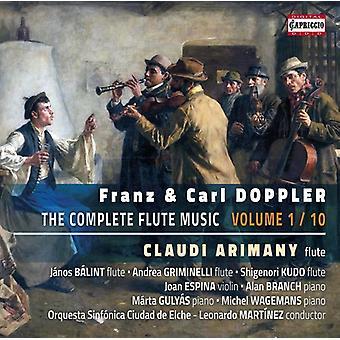 Doppler / Doppler / Arimany / Balint / Griminelli - Franz y Carl Doppler: V1 de música flauta completa importación de Estados Unidos [CD]