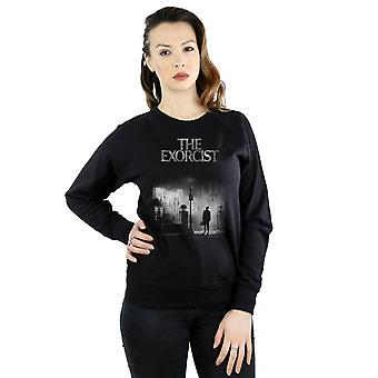 The Exorcist Women's Mono Distressed Poster Sweatshirt