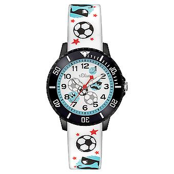 s.Oliver silicone band watch kids SO-3408-PQ