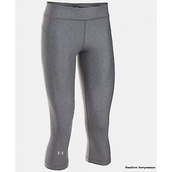 Under Armour Capri pants ladies short carbon heather 1297905-090